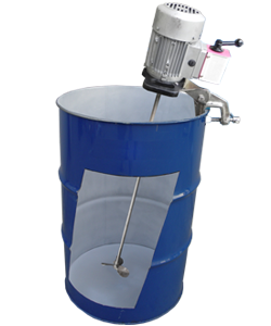 Open Barrel Stirrer - Electrical Operated