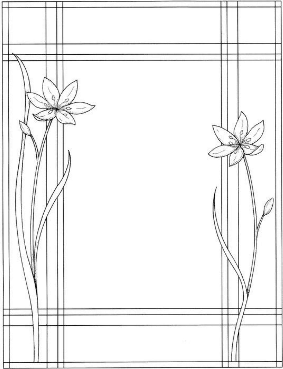 blank flower coloring pages - zen archangelism blank spell pages 2
