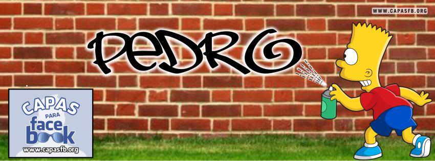 Capas para Facebook Pedro