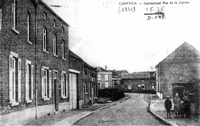 Figuur 14: De Stationsstraat rond 1927.