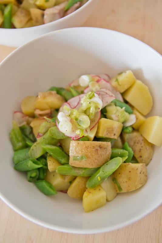 Secret Ingredient - Spring Salad with New Potatoes