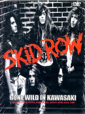 caratula-Skid Row-1989-Club-Citta-Kawasaki