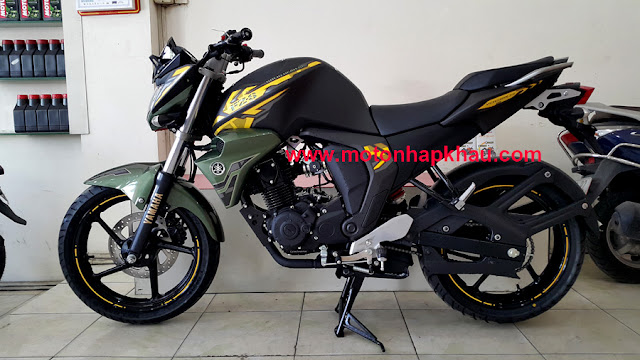 Yamaha FZS FI Version 2.0 Xanh Quan Doi
