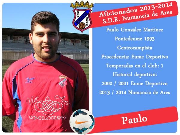 ADR Numancia de Ares. PAULO