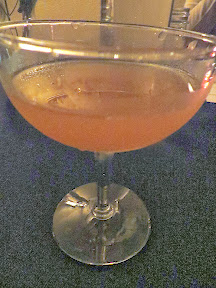 Morgan St Theater cocktail pairing of Powders of the Merchant with Foreign and Domestic Rums, Sherry, Becherovka, Combier, Orgeat, Citrus, Bitters