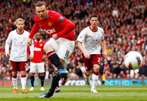 Wayne Rooney, Manchester United - Aston Villa