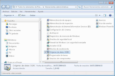 Crear un nuevo origen de datos ODBC MySQL de 32 bits en Microsoft Windows 7 x64