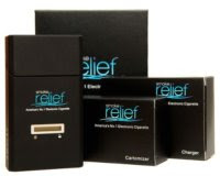 Smoke Relief Deluxe eCigarette Kit Box