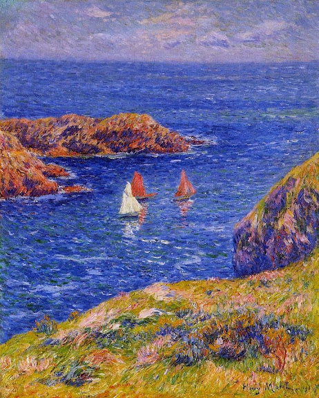 Henry Moret - Quessant, Calm Day,1905