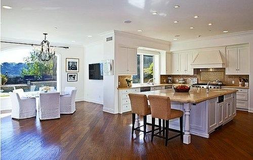 Decorando com classe casas maravilhosas Casas americanas interior