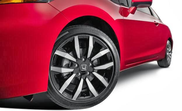 2014 honda civic coupe wheel photo 551063 s 624x382 مواصفات هوندا سيفيك 2014 مع صور و الاسعار