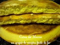 Pa marroquí cuit a la paella