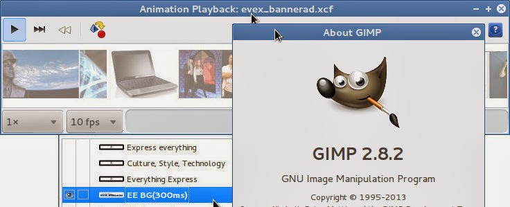 How-to: Animated GIFs using GIMP