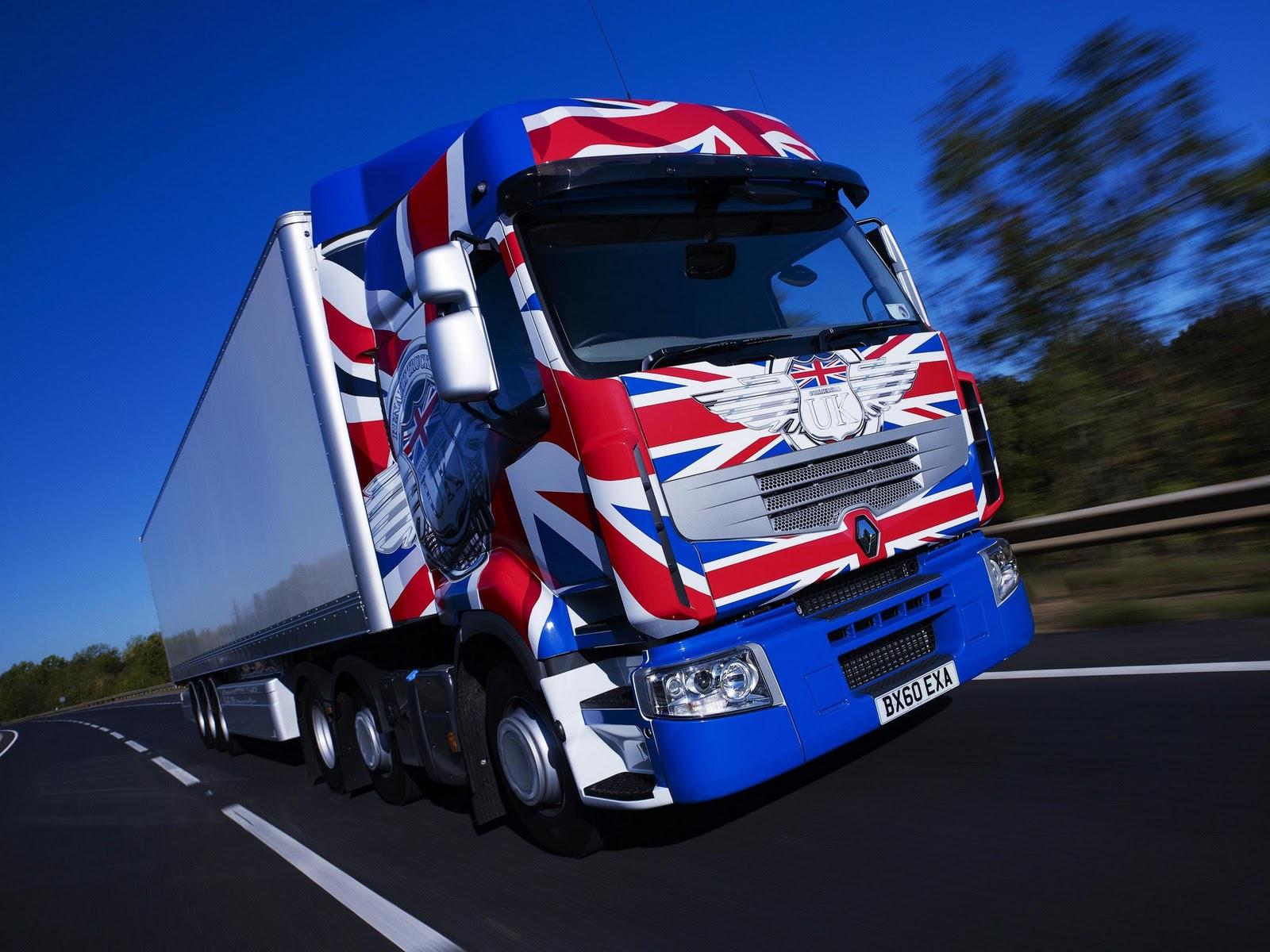 MA Blog | Promoción Renault Trucks: sus camiones surcan Inglaterra ...