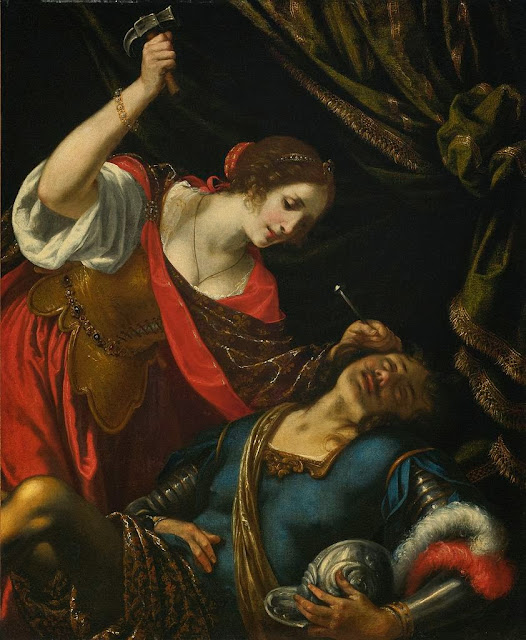 Jacopo Vignali - Jael and Sisera