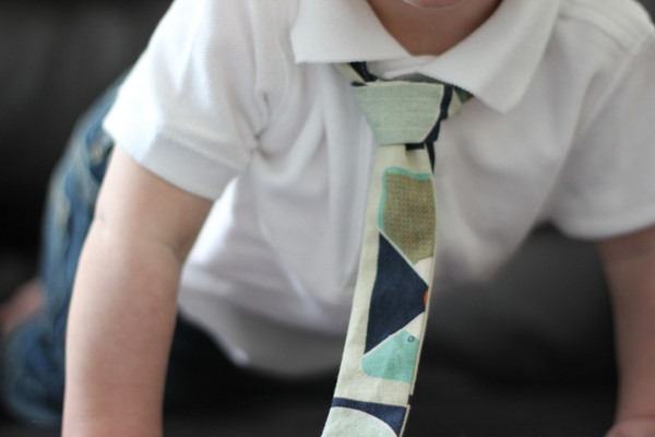 Skinny ties for little guys