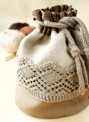 Сумка проект белье вязание