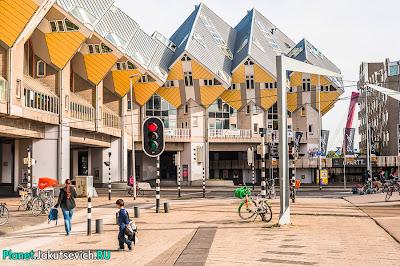 архитектура Роттердама