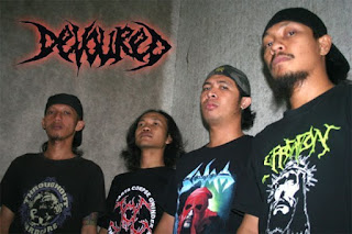 Devoured Indonesia Photo Wallpaper Band Grindcore / Death Metal Yogyakarta