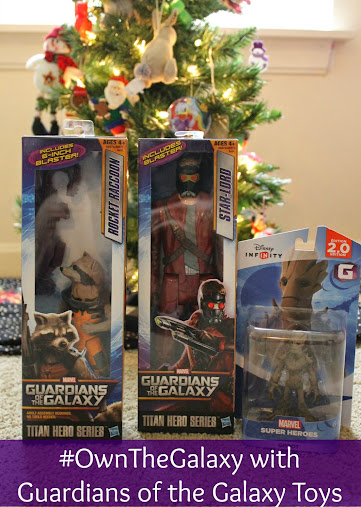 You too can #OwnTheGalaxy with Guardians of the Galaxy toys, soundtrack and DVD!