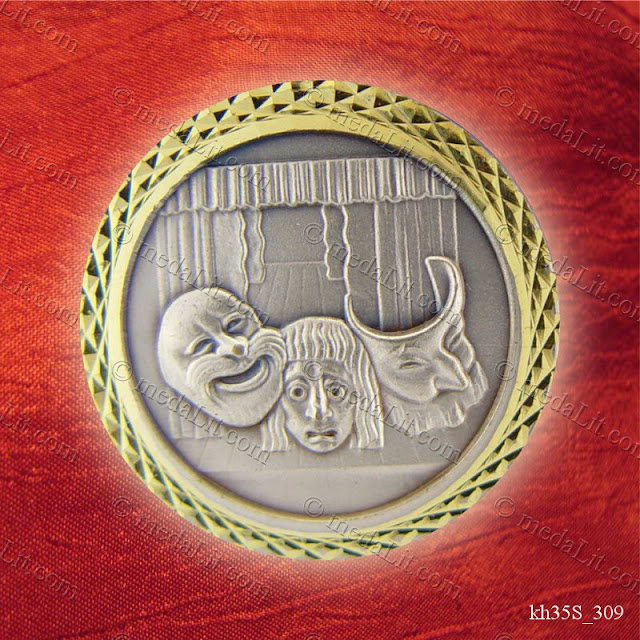 Absi Theater Medal from the Hobbies Key medals Series