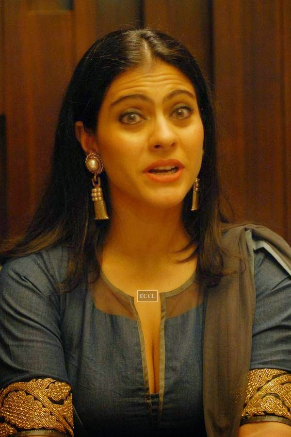 Kajol during a seminar on Breast Cancer awareness, organised by Prashanti Cancer Care Mission, in Pune, on July 24, 2014. (Pic: Viral Bhayani)