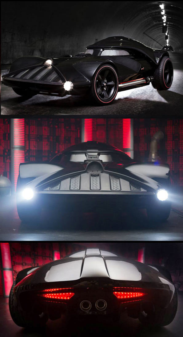 Star Wars Darth Vader Car