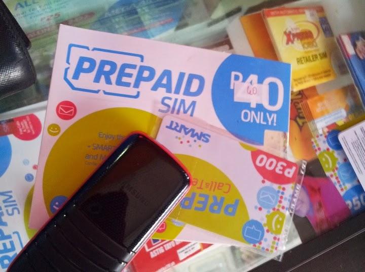 フィリピンでSIMを購入する
