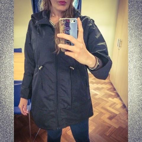 Primark-haul-waterproof-jacket