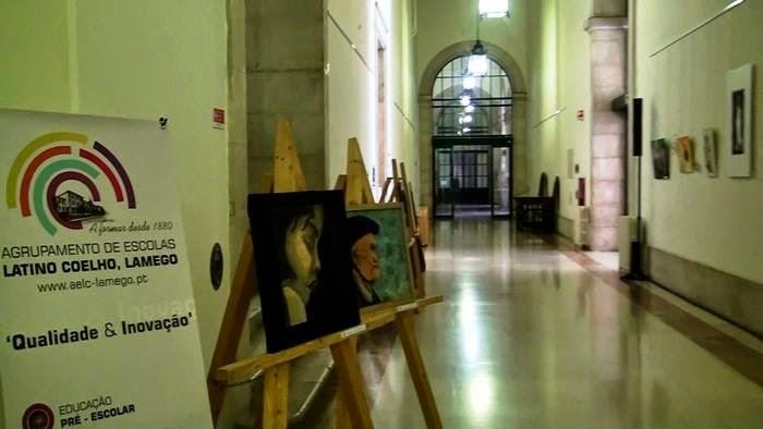 Assembleia da República divulga génio artístico dos alunos da Latino Coelho