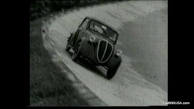 Fiat 500 Topolino testing