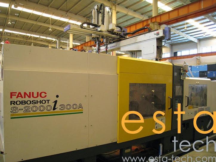 Fanuc Roboshoshot S2000i300a 2004 All Electric Plastic