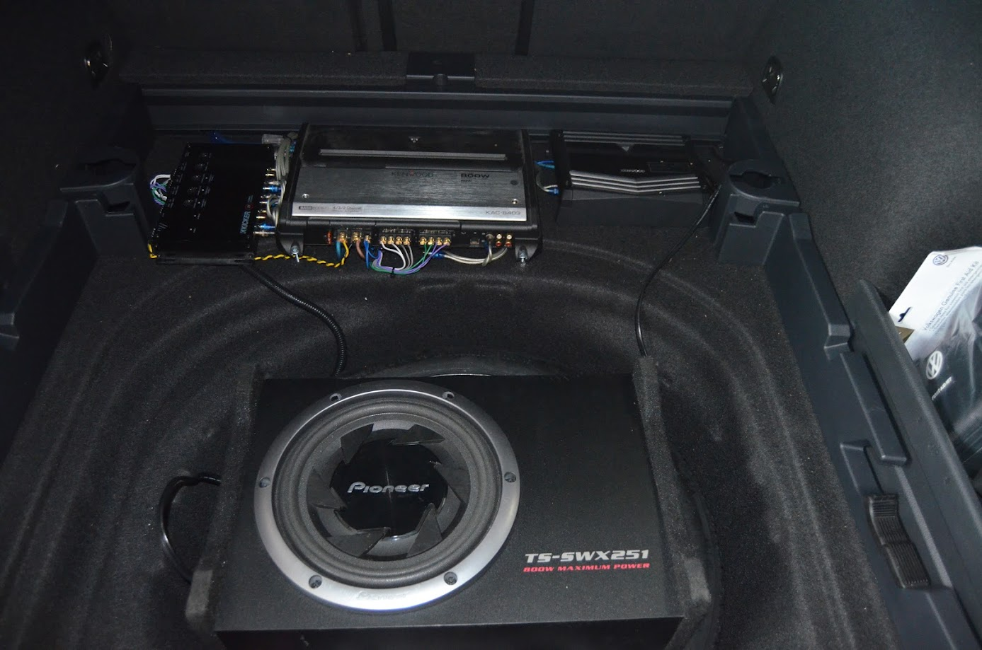 sound system upgrades for golf sportwagen