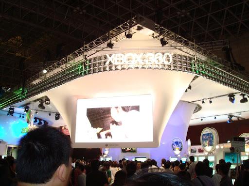 XBOX360展台
