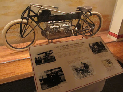 Yes thats a V8 Motorcycle ! Curtiss .