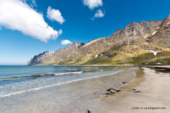 норвегия.остров сенья