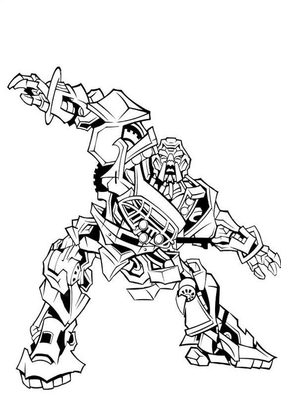 Desenhos Para Colorir Em Geral Desenho Dos Transformers