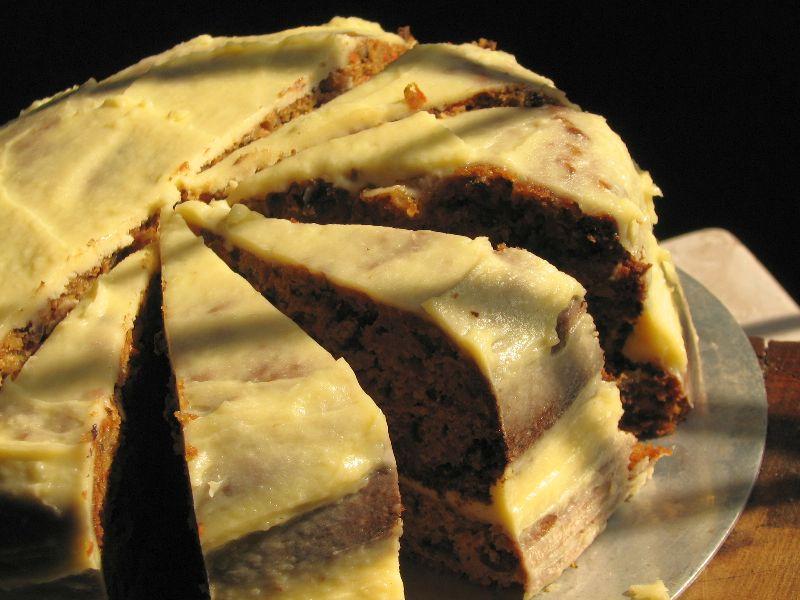 Walnut Cake Frosting Recipe