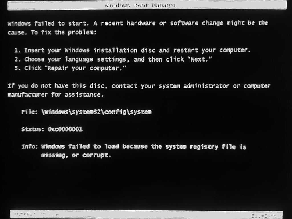 contact system administrator windows 7