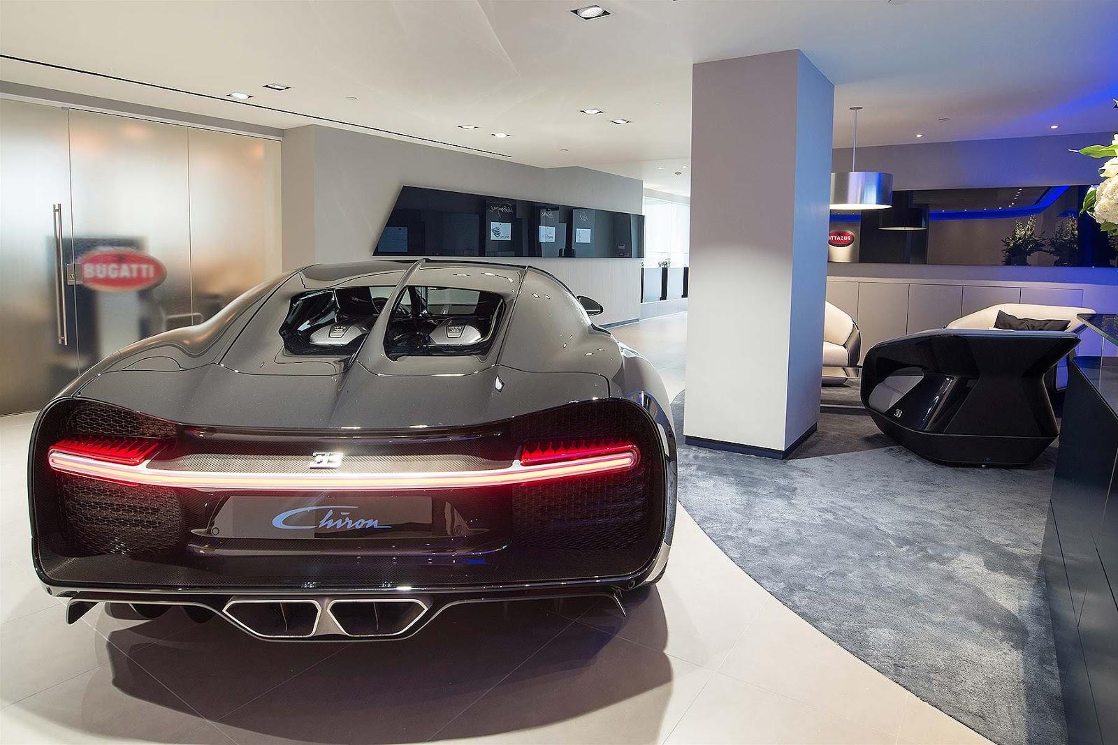 London chính là thị trường lớn của Bugatti trên thế giới