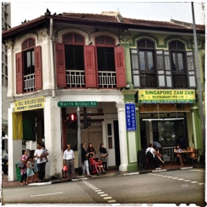 Barrio Arabe, Singapur