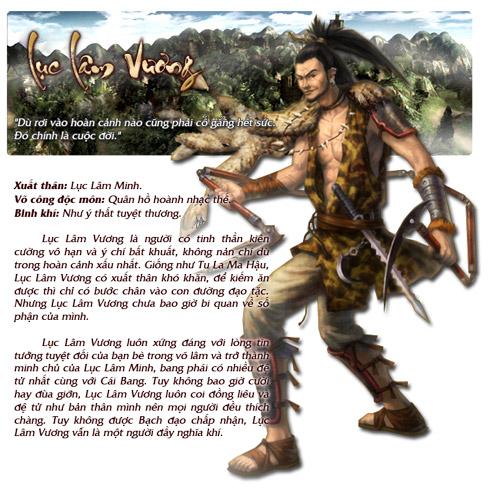 Những nhân vật nổi bật trong Cửu Long Tranh Bá 9