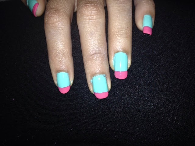 Belle Brindille: Manicure Monday! Featuring ELF Liquid Metal Nail ...