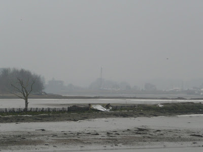 The wide open landscape of the Deben Estuary