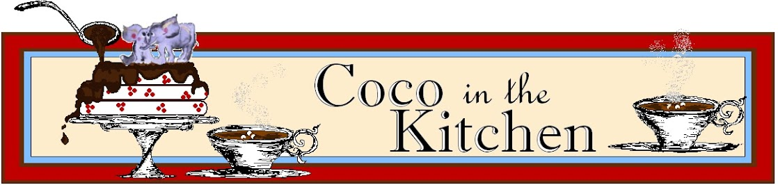 Coco in the Kitchen