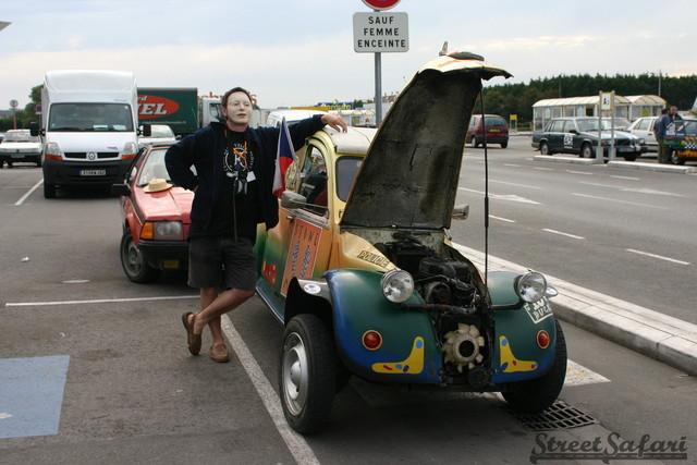 Crazy Chopped Czech Citroen Rally Car The Duck By Jaryn