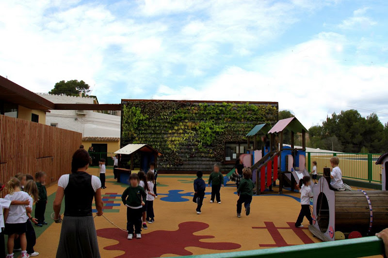 Jardín vertical educativo