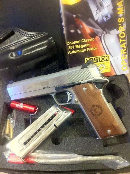 357 MAG Auto Pistols     1911 BABY!!!