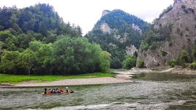 Spływ tratwami po Dunajcu