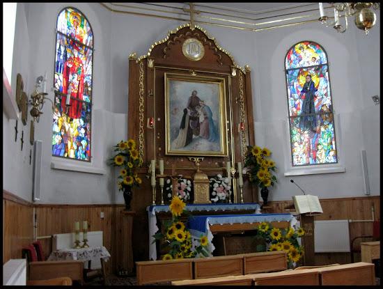 kaplica w Komańczy